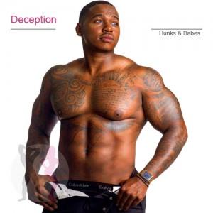 Deception black chi male stripper