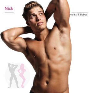 Nick white chi male stripper