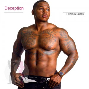 Deception black chi male stripper